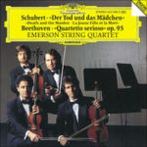 CD Quartetto per Archi Death & th di Franz Schubert