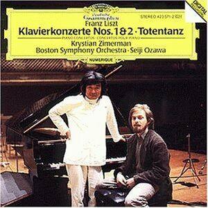 CD Concerti per pianoforte n.1, n.2 - Totentanz di Franz Liszt