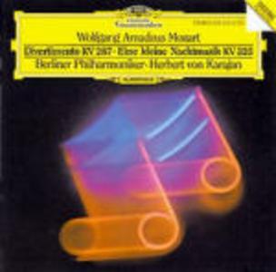 CD Eine Kleine Nachtmusik K525 - Divertimento K287 di Wolfgang Amadeus Mozart