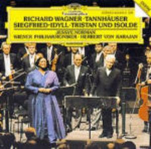 CD Tannhäuser Ouverture - Idillio di Sigfrido - Tristano e Isotta Ouverture di Richard Wagner
