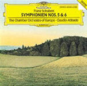 CD Sinfonie n.5, n.6 di Franz Schubert
