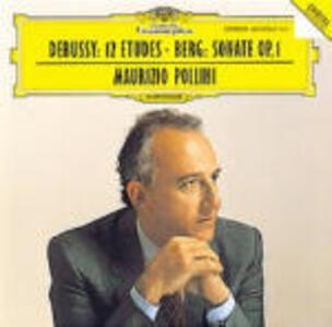 12 Studi / Sonata per pianoforte - CD Audio di Alban Berg,Claude Debussy