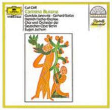 Carmina Burana - CD Audio di Carl Orff,Gundula Janowitz,Dietrich Fischer-Dieskau,Eugen Jochum,Orchester der Deutschen Oper Berlino