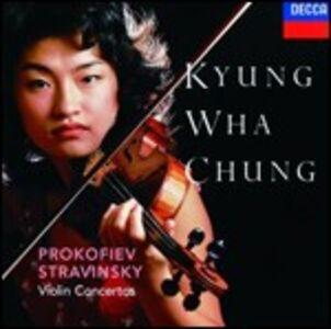 CD Concerti per violino Sergei Sergeevic Prokofiev , Igor Stravinsky