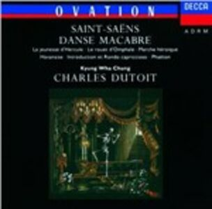 CD Danse Macabre - Phaéton - Havanaise di Camille Saint-Saëns