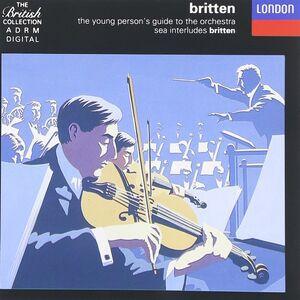 CD Guida del giovane all'orchestra - Four Sea Interludes di Benjamin Britten