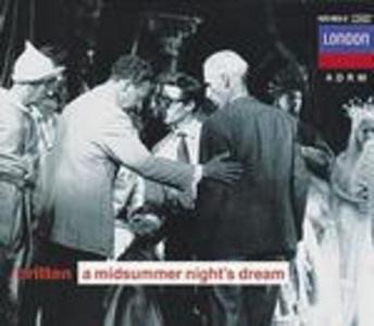 CD Sogno di una notte di mezza estate (A Midsummer Night's Dream) di Benjamin Britten