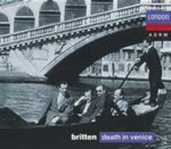 Foto Cover di Morte a Venezia (Death in Venice), CD di AA.VV prodotto da London