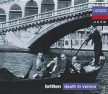 CD Morte a Venezia (Death in Venice) di Benjamin Britten