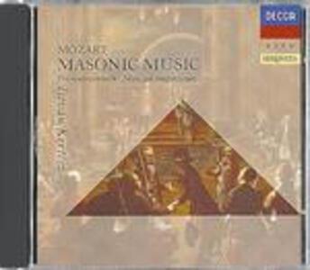 Musica massonica - CD Audio di Wolfgang Amadeus Mozart,Istvan Kertesz,London Symphony Orchestra