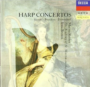 CD Concerti per arpa François-Adrien Boieldieu , Karl Ditters Von Dittersdorf , Georg Friedrich Händel