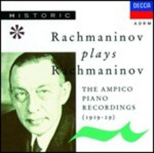 CD Musica per pianoforte di Sergei Vasilevich Rachmaninov