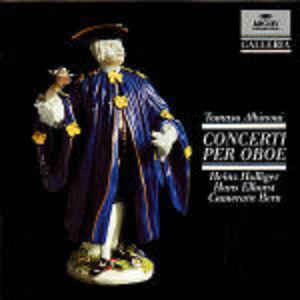 CD Concerti per oboe op.7 di Tomaso Giovanni Albinoni