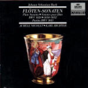 CD Sonate per flauto BWV1020, BWV1030, BWV1031, BWV1032, BWV1013 di Johann Sebastian Bach