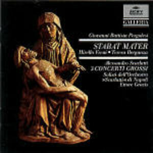 Stabat Mater - CD Audio di Giovanni Battista Pergolesi,Ettore Gracis