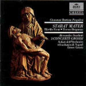 Foto Cover di Stabat Mater, CD di Giovanni Battista Pergolesi,Ettore Gracis, prodotto da Archiv