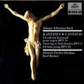 CD Cantate BWV4, BWV56, BWV82 Johann Sebastian Bach Karl Richter Münchener Bach-Orchester