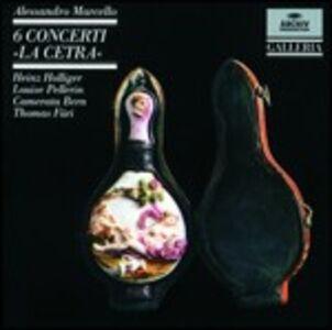 Foto Cover di Concerti La cetra - Concerto per oboe, CD di Alessandro Marcello, prodotto da Archiv