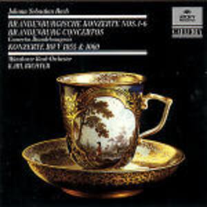 Concerti brandeburghesi n.1, n.2, n.3 - Concerti per oboe BWV1055, BWV1060 - CD Audio di Johann Sebastian Bach,Karl Richter,Münchener Bach-Orchester