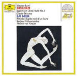 CD Boléro - Daphnis et Chloé / La mer - Prélude à l'après-midi d'un faune Claude Debussy , Maurice Ravel