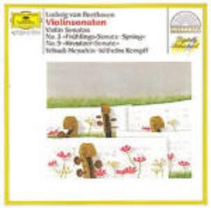 Sonate per violino e pianoforte n.5, n.9 - CD Audio di Ludwig van Beethoven,Wilhelm Kempff,Yehudi Menuhin
