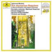 CD Un Requiem tedesco (Ein Deutsches Requiem) Johannes Brahms Herbert Von Karajan Berliner Philharmoniker