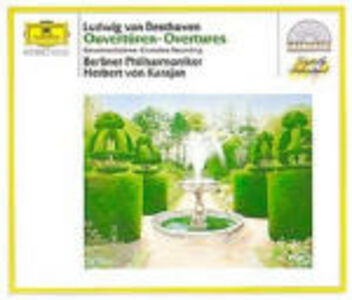 CD Ouvertures complete di Ludwig van Beethoven