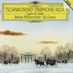 CD Sinfonia n.4 in F Minor di Pyotr Il'yich Tchaikovsky