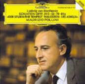 CD Sonate per pianoforte n.17, n.21, n.25, n.26 Ludwig van Beethoven Maurizio Pollini