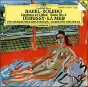 CD Boléro - Daphnis et Chloé suite n.2 / La mer Claude Debussy , Maurice Ravel