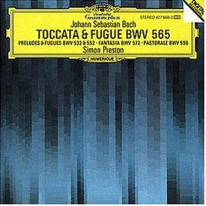 CD Toccata e fuga BWV565 - Preludi BWV532, BWV552 - Fantasia BWV572 - Pastorale BWV590 di Johann Sebastian Bach
