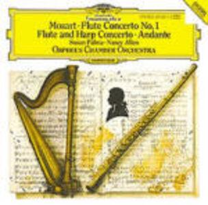 CD Concerto per flauto e arpa - Concerto per flauto n.1 di Wolfgang Amadeus Mozart