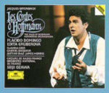 I racconti di Hoffmann (Les contes d'Hoffmann) - CD Audio di Placido Domingo,Edita Gruberova,Jacques Offenbach,Seiji Ozawa,Orchestre National de France