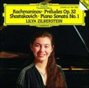 CD Preludi op.32 / Sonata per pianoforte n.1 Sergei Vasilevich Rachmaninov , Dmitri Shostakovich