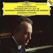 CD Sonate per pianoforte n.13, n.14, n.15 Ludwig van Beethoven Maurizio Pollini