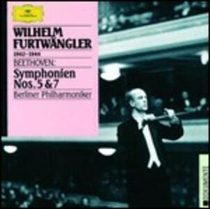 Sinfonie n.5, n.7 - CD Audio di Ludwig van Beethoven,Wilhelm Furtwängler,Berliner Philharmoniker