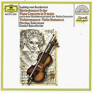 CD Concerto per pianoforte - Romanze per violino di Ludwig van Beethoven