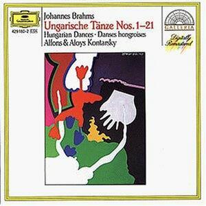Danze ungheresi per pianoforte a 4 mani - CD Audio di Johannes Brahms