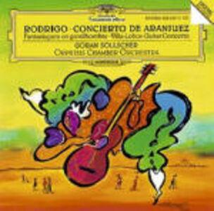 CD Concerto di Aranjuez / Concerto per chitarra e piccola orchestra Heitor Villa-Lobos , Joaquin Rodrigo