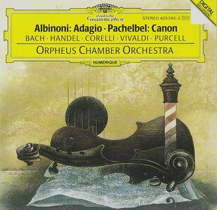 CD Adagio / Canone e giga ed altre composizioni Tomaso Giovanni Albinoni , Johann Sebastian Bach , Antonio Vivaldi , Johann Pachelbel , Georg Friedrich Händel