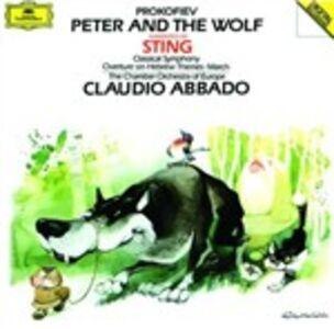 CD Pierino e il lupo - Sinfonia classica - Marcia op.99 - Ouverture op.34 di Sergei Sergeevic Prokofiev