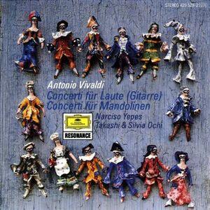 CD Concerti per chitarra di Antonio Vivaldi
