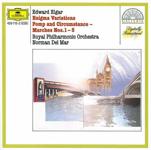 Variazioni Enigma - Pomp and Circumstance - Marce - CD Audio di Edward Elgar,Royal Philharmonic Orchestra,Norman Del Mar