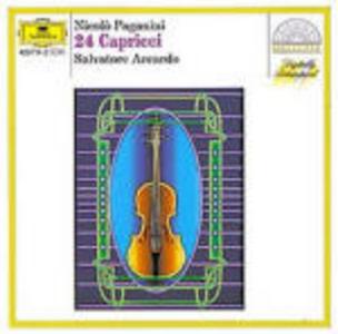 CD 24 Capricci di Niccolò Paganini