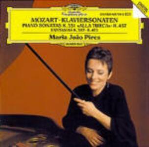 Sonate per pianoforte K331, K457 Fantasie K397, K475 - CD Audio di Wolfgang Amadeus Mozart,Maria Joao Pires