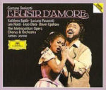 Foto Cover di L'elisir d'amore, CD di AA.VV prodotto da Deutsche Grammophon