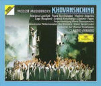 CD Khovanshchina di Modest Petrovich Mussorgsky