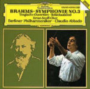 Foto Cover di Sinfonia n.3 - Ouverture Tragica - Schicksalslied, CD di AA.VV prodotto da Deutsche Grammophon