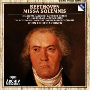 CD Missa Solemnis di Ludwig van Beethoven