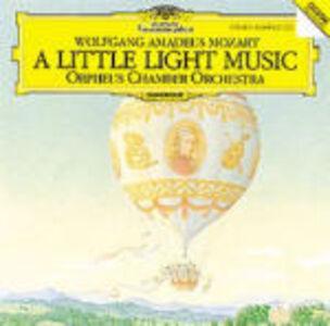 CD A Little Light Music di Wolfgang Amadeus Mozart